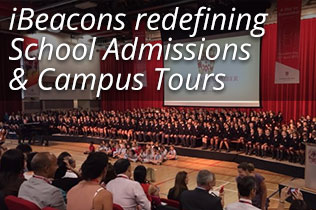 iBeacons redefining School Admissions and Campus Tours
